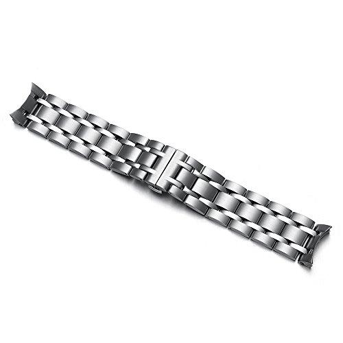 CHIMAERA Edelstahl Uhrenarmband Ersatzteil gebogenes Ende für TISSOT COUTURIER T035 mit 22MM 23MM 24MM - Uhrenarmband Tissot Edelstahl