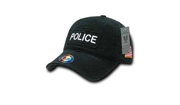 Rapiddominance Police Double Drapeau Raid Capuchon