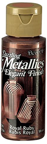 DecoArt Americana Acrylic Metallic Paint, Royal