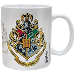 Pyramid International - Taza de cerámica con el escudo de Hogwarts de Harry Potter