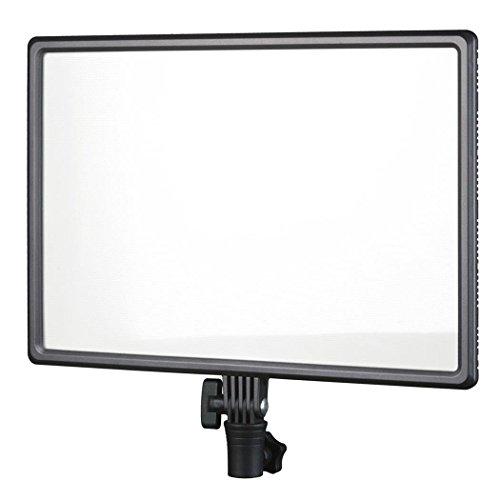 Nanguang Luxpad 43 Bi-Color-LED-Flächenleuchte (Stativleuchte) mit Spezial-Diffusor für blendarmes Licht - 400 Lux (100 cm) - Leuchtwinkel 150 Grad - ideal für Film und Foto