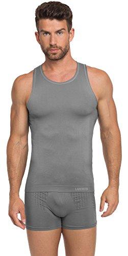 Ladeheid Herren Unterhemd 05 60 Graphite