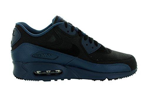Nike Air Max 90 Winter Prm, Chaussures de Running Entrainement Homme Multicolore - Azul / Negro (Squadron Blue / Black)