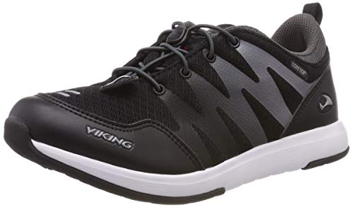 Viking Unisex-Kinder BISLETT II GTX Cross-Trainer, Schwarz (Black/Charcoal 277), 35 EU