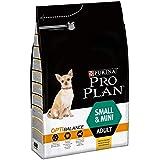 PRO PLAN Small & Mini Adult avec OPTIBALANCE Riche en Poulet - 3 KG - Croquettes pour petits chiens adultes
