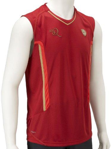 Nike, 10 Ronaldinho Dri-FIT, Maglia senza maniche da uomo, Rosso, M