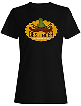 La Mejor Cerveza De Oktoberfest camiseta de las mujeres o413f