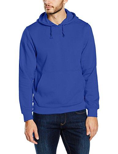 Clique Herren Kapuzenpullover Basic Blau