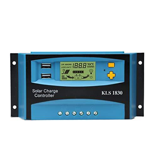 Descripción: Este controlador USB de doble está diseñado para la salida conveniente, la satisfacción de las demandas de los diversos dispositivos electrónicos. Incorporada en la sonda termosensible para este controlador solar, la detección de la temp...