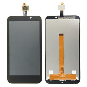 HTC Desire 320Ersatzdisplay Komplettset (Glas + Touchscreen + LCD) schwarz