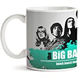 Motivate Box| Quirky And Trendy Printed White Ceramic Coffee Mugs Big Bang Theory BBT Leonard Penny Amy Sheldon Knock Knock Penny Penny Penny! (325 Ml)