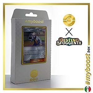 Ultimo Tentativo di Blaine (Último Recurso de Blaine) 52/68 Holo Reverse - #myboost X Sole E Luna 11.5 Destino Sfuggente - Box de 10 cartas Pokémon Italiano