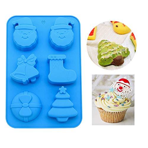uffin-Backform, Halloween, limitierte Auflage, für Cupcakes, Antihaft-Silikon-Pfannen, Backform für Gelee/Cookie/Schokolade/Süßigkeiten/Eis/Kuchen Halloween Silicone molds ()