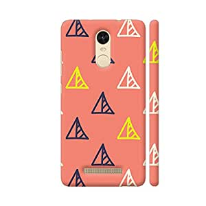 Colorpur Redmi Note 3 Cover - Abstract Design Printed Back Case