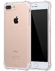 Funda iPhone 6 6S Carcasa Silicona Transparente Protector TPU Airbag Anti-choque Ultra-delgado Anti-arañazos Case para Teléfono Apple iPhone 6/6S Caso Caja Jeper®