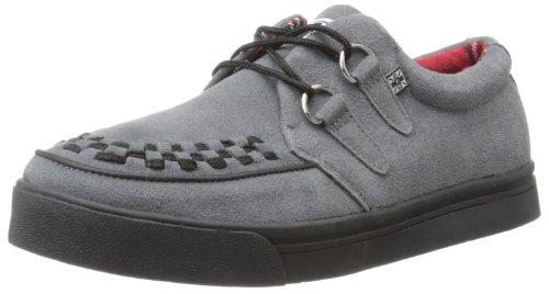 TUK 2 Ring Creeper Sneaker, Unisex-Erwachsene Sneaker, Grau (Gris (Grey Suede/Blackbones)), 40 EU