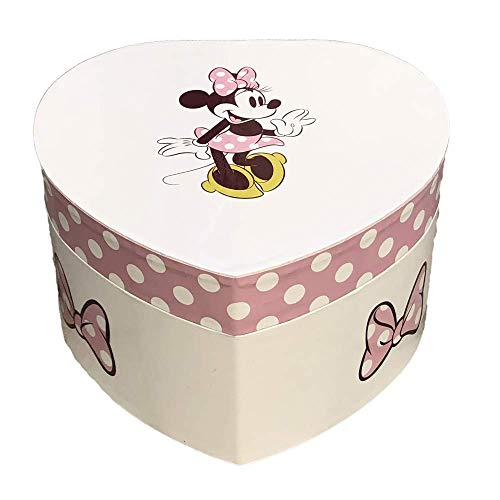 Minnie Mouse Joyero Musical Corazon Minnie WD20324