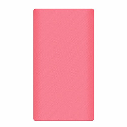 Heartly Strip Style Soft Silicone Pouch Protector Cover Case For 10000mAh Mi Power Bank 2 (Version 2) - Cute Pink  available at amazon for Rs.299