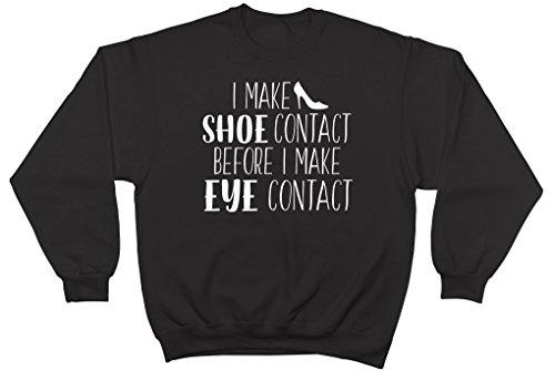 Shopagift - Sweat-shirt - Femme noir noir S Noir
