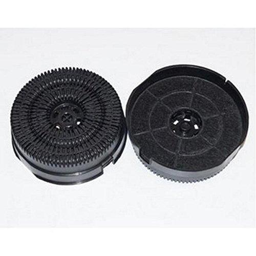 Lot de 2 filtres à charbon type 58 AKB000/1 - Hotte - ARISTON HOTPOINT, BAUKNECHT, WHIRLPOOL