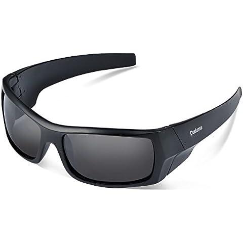 Duduma Sport Occhiali da Sole Polarizzati per Gli Uomini Ideale per lo Sci Golf Corsa Ciclismo TR601 Super Leggero per Gli Uomini e le Donne.