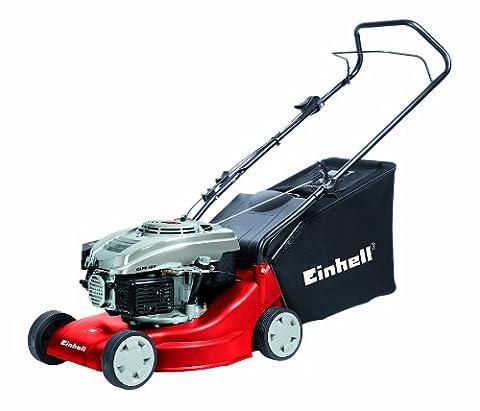 Einhell Benzin Rasenmäher GH-PM 40 P (1,6 kW, 40 cm Schnittbreite, 3-fache Schnitthöhenverstellung 32-62 mm, 45 l (Günstig Rasenmäher)