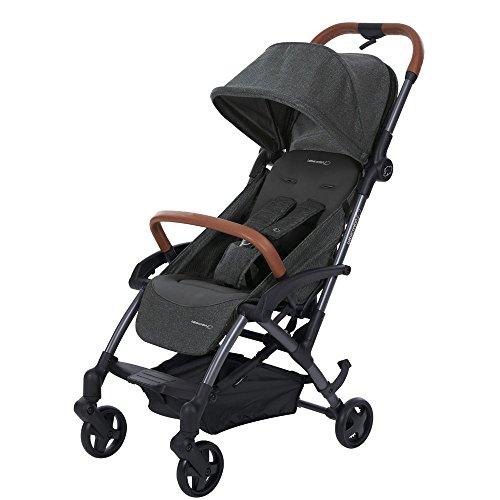 Bébé Confort Laika - Cochecito ultracompacto y superurbano para bebé, color Sparkling Grey
