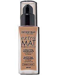 Deborah Milano Fondotinta Extra mat perfection 30ml 36g Bouteille Liquide–Base de Maquillage (beige, Amber...