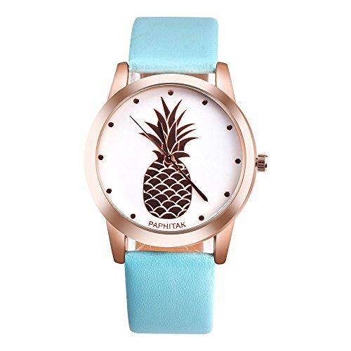 Uhren Damen Armbanduhr Frauen Lässig Dame Kunstleder Quarz-analoge Armbanduhr Exquisit Uhr Wrist Watch Uhrenarmband Freizeit Uhr,ABsoar