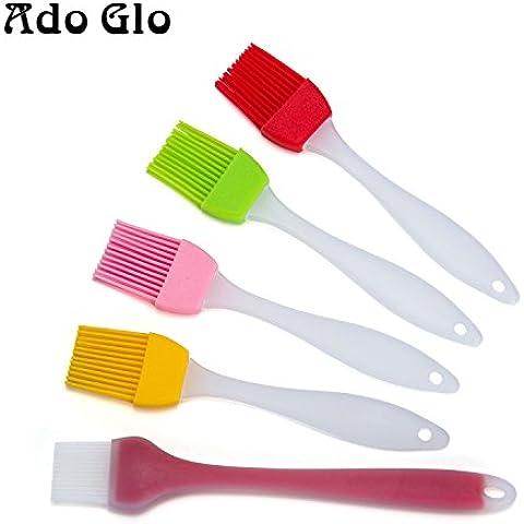 Ado Glo In Silicone Pennello e spazzola da pasticceria–Set di