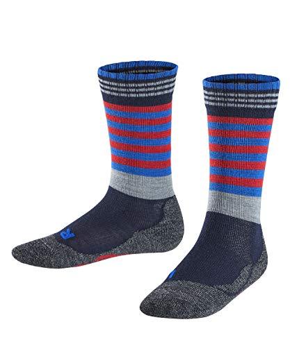 FALKE Kinder Frog K SO Socken, Blau (Marine 6120), 31-34