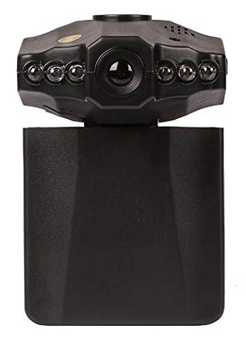 GPCT [720P] 30FPS [Rotatable] DVR Car Dash Camera. Hidden Spy