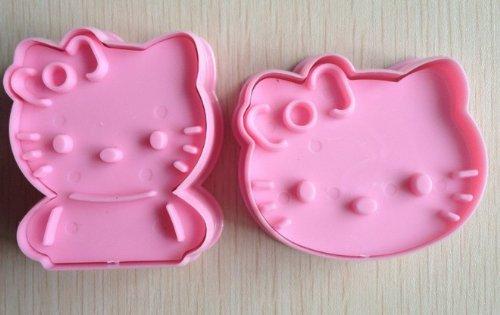 Hello Kitty Cookie Cutter Kuchenform mold-pink ()