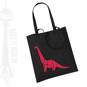 Jutebeutel Stoffbeutel ' Dino Brontosaurus '