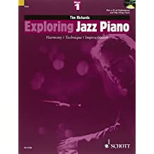 Exploring Jazz Piano Volume 1 +CD - Piano-