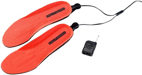 Preisvergleich Produktbild PEARL urban Beheizbare Arbeitsschuhe: Beheizbare Akku-Schuheinlagen BS-64.FB mit Fernbed, 39-41 (Fußwärmer elektrisch für Schuhe)