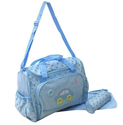 XXL 3 tlg bebé Colour azul claro bolsa cambiador