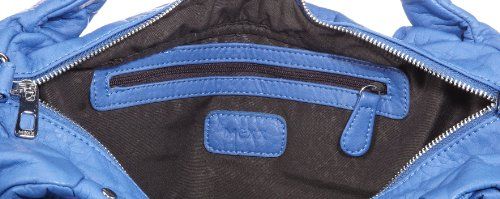 Mexx 13baw002 - Soft Medium Shoulde 3FBWB002, Damen Schultertaschen 36x28x16 cm (B x H x T) Blau (Lotus Blue 480)