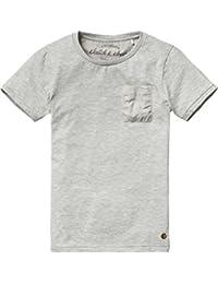 Scotch Shrunk Jungen T-Shirt Basic Garment Dyed Crew Neck Tee