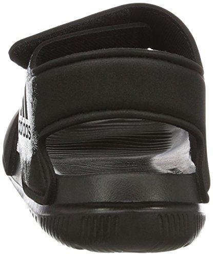 adidas Unisex-Kinder Altaswim Knöchelriemchen Sandalen, Schwarz (Core Black/Ftwr White/Core Black), 29 EU -