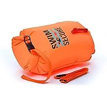 Swim Secure L901/28 – Boya de Natación Aguas Abiertas, Impermeable, Naranja,