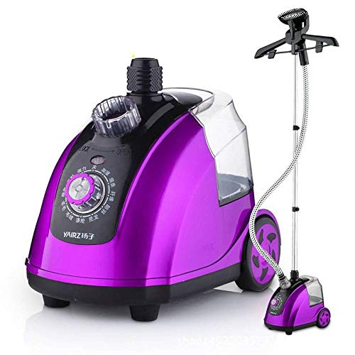 MoMo Dampfhängemaschine, bügelnde Bügelmaschine der Haushaltshand, hängendes Minieisen,lila,Einheitsgröße