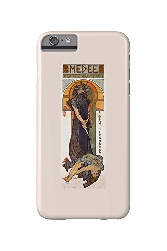 Medee - Sarah Bernhardt Vintage Poster (artist: Mucha, Alphonse) France c. 1898 (iPhone 6 Plus Cell Phone Case, Slim Barely There)