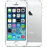 Apple iPhone 5S Plata 64GB Smartphone Libre (Reacondicionado Certificado)