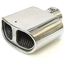 Auto Hobby 0250 Apertura de escape Tubo de escape universal acústica Vapor Silencioso Silencioso Apertura apertura