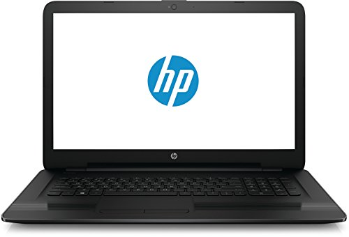 HP 17-y023ng (P3T58EA) 43,9 cm (17,3 Zoll / HD+) Notebook (AMD Dual-Core A9-9410 APU, 8 GB RAM, 1 TB HDD, AMD Radeon R3-Grafikkarte, Windows 10 Home 64) schwarz