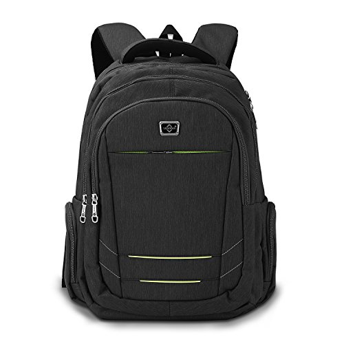 HongyuTing Wasserdichte Laptop Rucksack Business Trip Computer Bag Leichte Reise Daypack Fit 15,6 Zoll Laptop