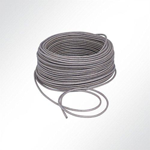 LYSEL Kunststoffplanenseil mit Sisal-Einlage, (D) 8mm in Weiß (10 m)