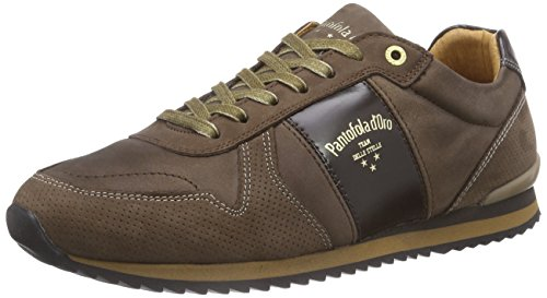Pantofola dOro Teramo Low Men, Baskets Basses homme Marron - Grain de café