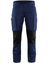 """'blakläder Mujer Pantalones de trabajo de servicio """"Stretch Tamaño C44en color azul marino/negro, 1pieza, 715918458999C44"""